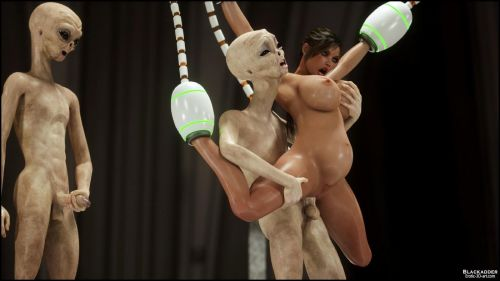 Erotic 3D Art – Alien Nightmare - part 4