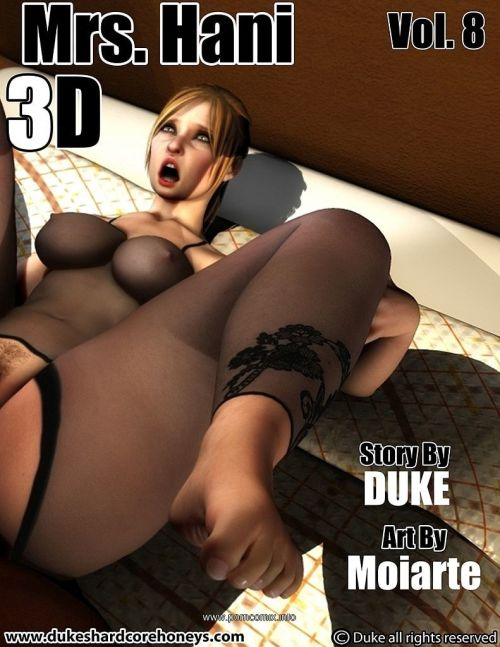 Mrs. Hani 3D Vol.8- Duke Honey