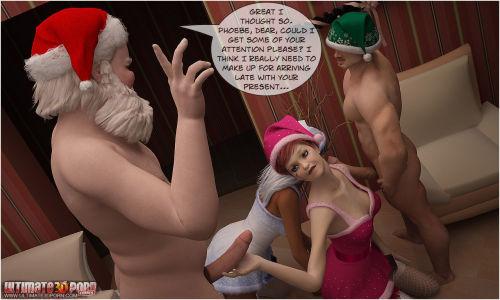 How Santa Celebrated Christmas - part 2