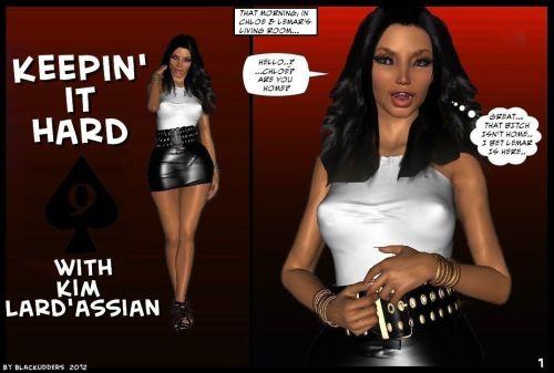 Kim Kardashian- Keepin it Hard
