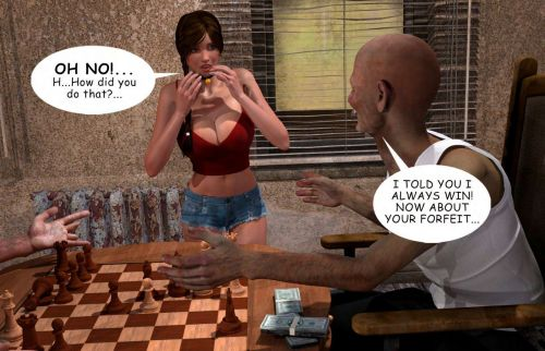 Lost Bet – Petra Helps The Elderly - part 3